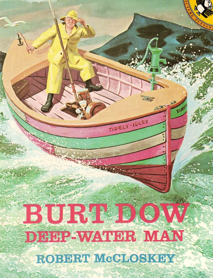 Image result for burt dow, deep-water man robert mccloskey