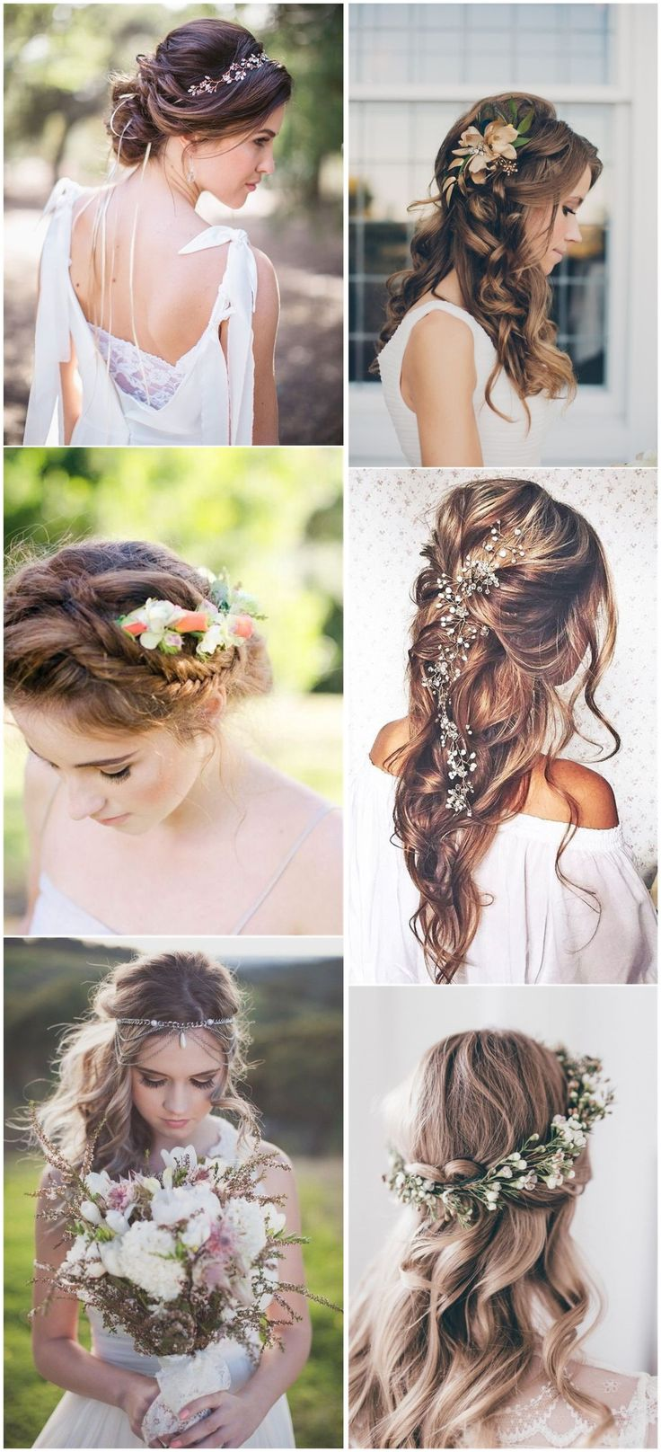 Boho wedding hairstyle long hairs long hairstyle galleries - Wedding Hairstyles 21 Inspiring Boho Bridal Hairstyles Ideas To Steal