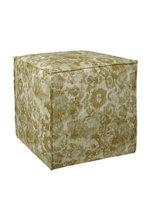 50% OFF Skyline Square Ottoman with French Seams