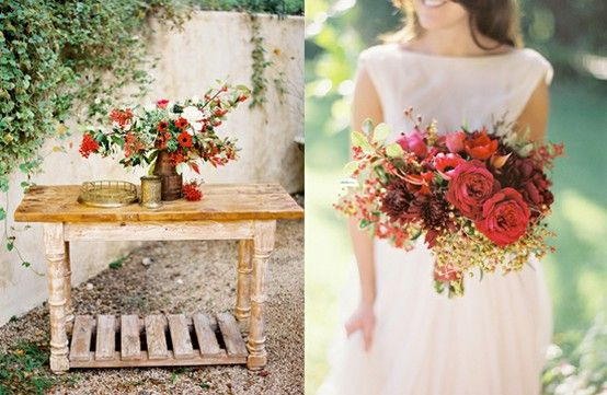 Wedding Bouquets With Fall Flowers (Source: media-cache-lt0.pinterest.com)