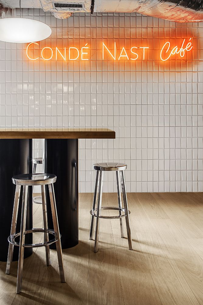 Charles Zana | Condé Nast offices luxury hotels #Hospitalityfurniture See more inspirations at: http://brabbucontract.com/projects