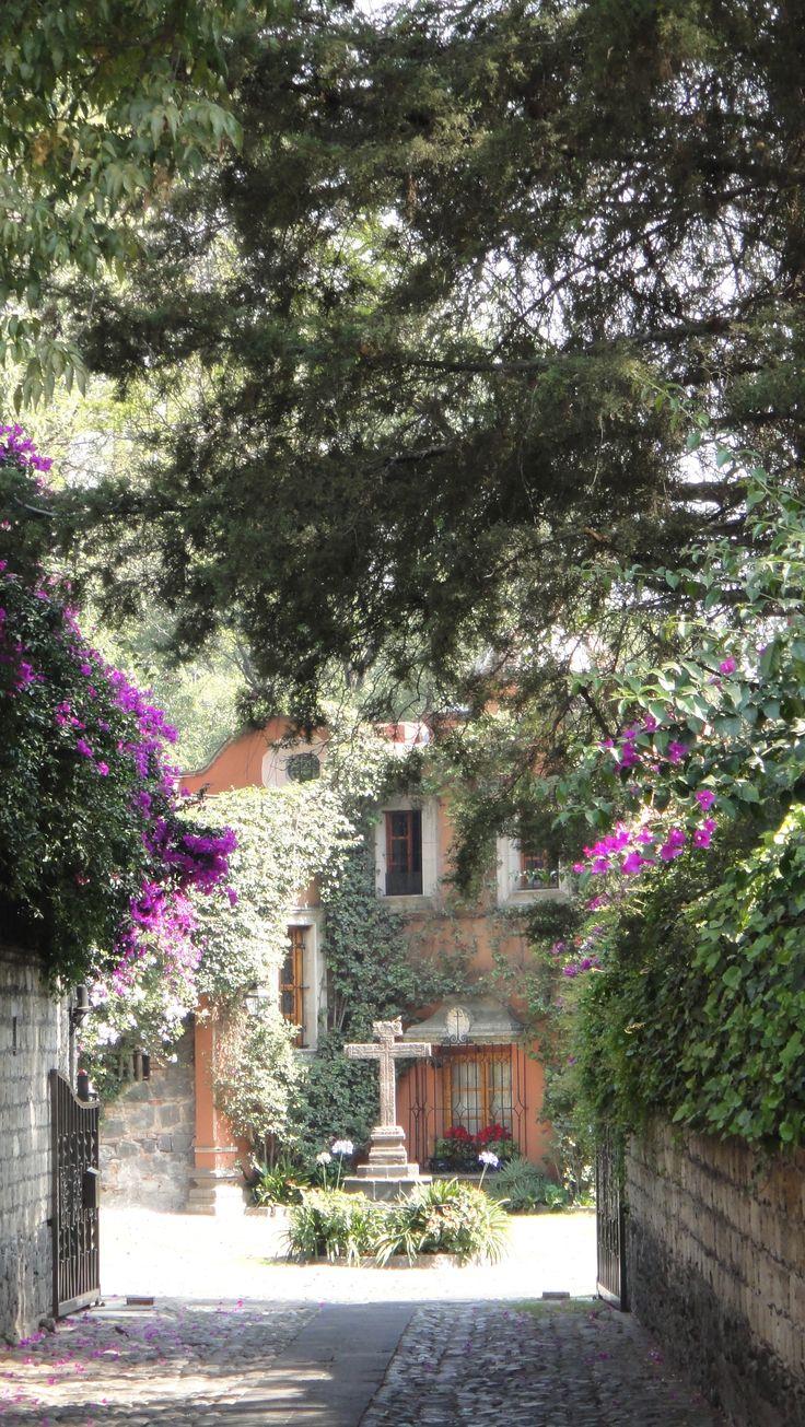 Callejon de la Amargura #SanAngel #MexicoCity