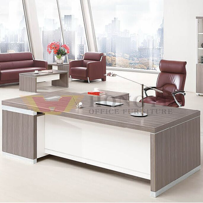 Director Office Silver White Executive Table of High Quality (HY-NNH-JT04) - China Executive Table, Executive Desk | Made-in-China.com Mobile