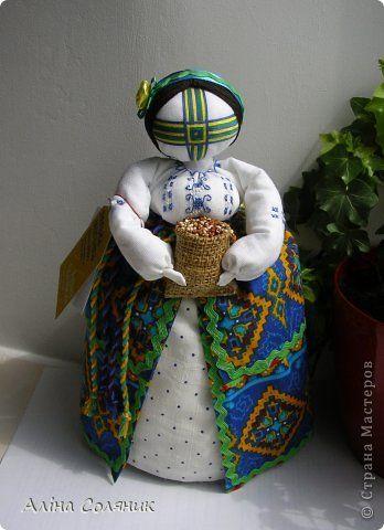 Куклы Шитьё Кукла-мотанка Ткань фото 38