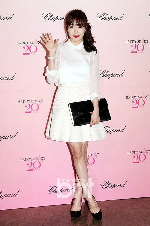 [131205] Tiffany at Chopard Happy Sport 20th Anniversary Party