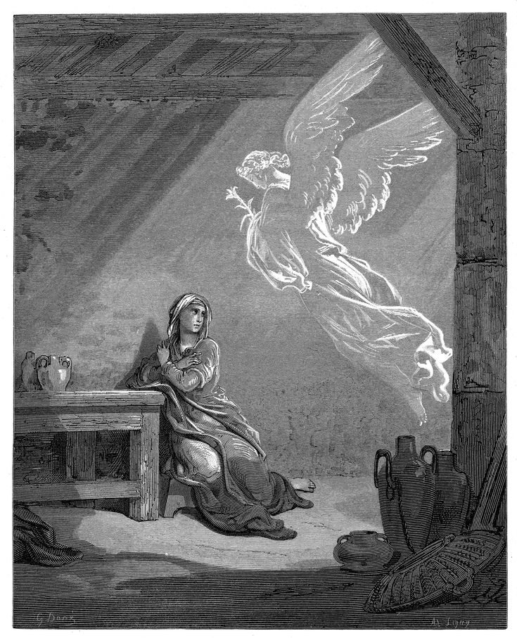 1. The Annunciation (Gustave Doré)