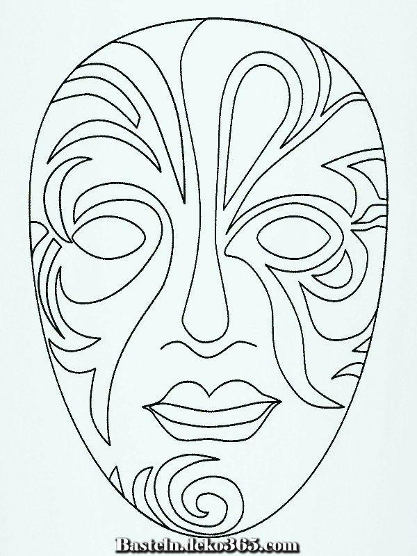 Masken 999 Malvorlagen Basteln Mit Kids Masken Basteln Ausmalbilder Masken Zum Ausmalen