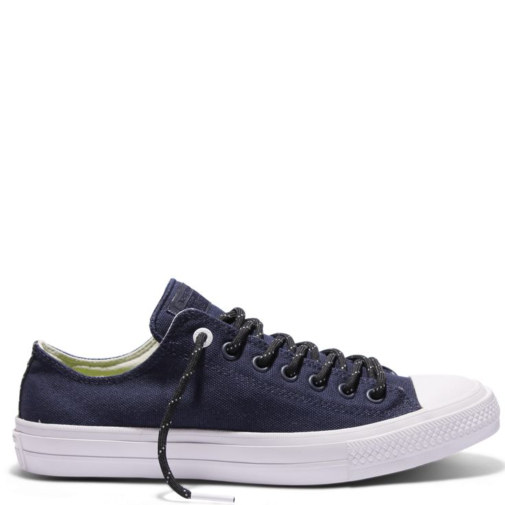 Buy Chuck Taylor All Star II Shield Canvas Low Top Obsidian Online | Converse…