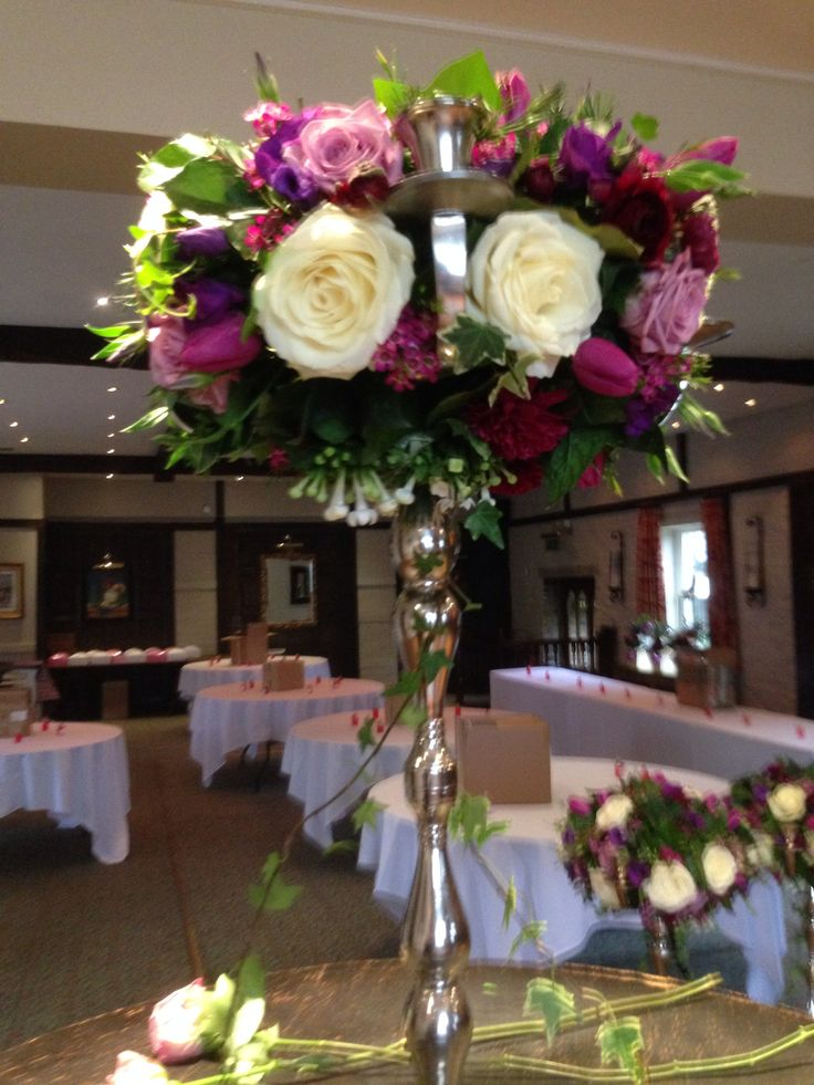 Candlabras for a wedding. By inspirations of Huddersfield