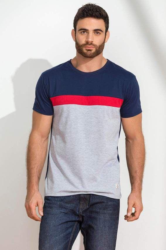 dbf18c7dade7e Camiseta Manga Corta Cuello Redondo Único