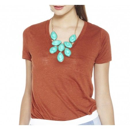 Sole Society Accessories - SHORT STONE NECKLACE $49.95