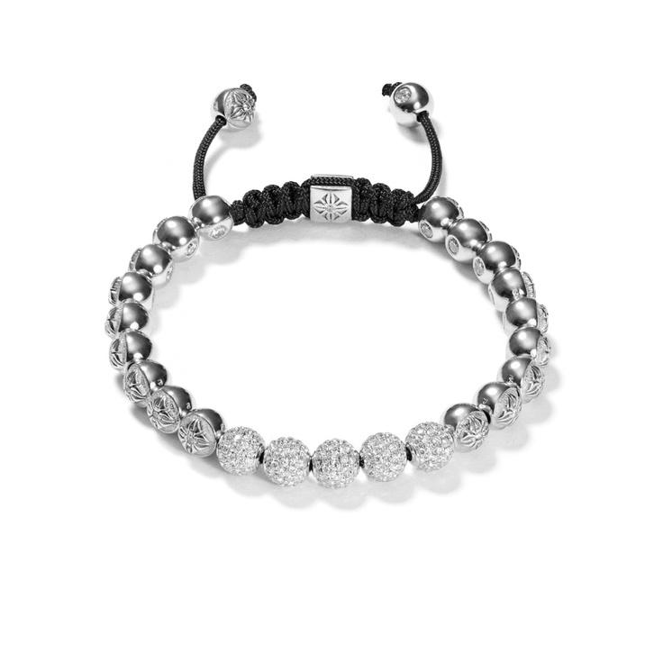 White Diamond Bracelet