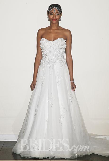 Brides: Yumi Katsura Wedding Dresses   Fall 2015   Bridal Runway Shows   Brides.com | Wedding Dresses Style