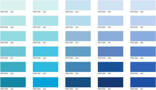 Nuancier bleu pantone recherche google couleurs pinterest nuancier bl - Couleur de l annee pantone ...
