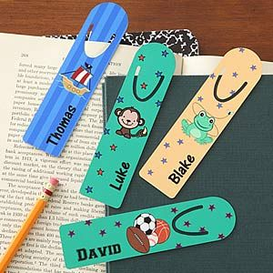 You Choose Personalized Bookmark Set