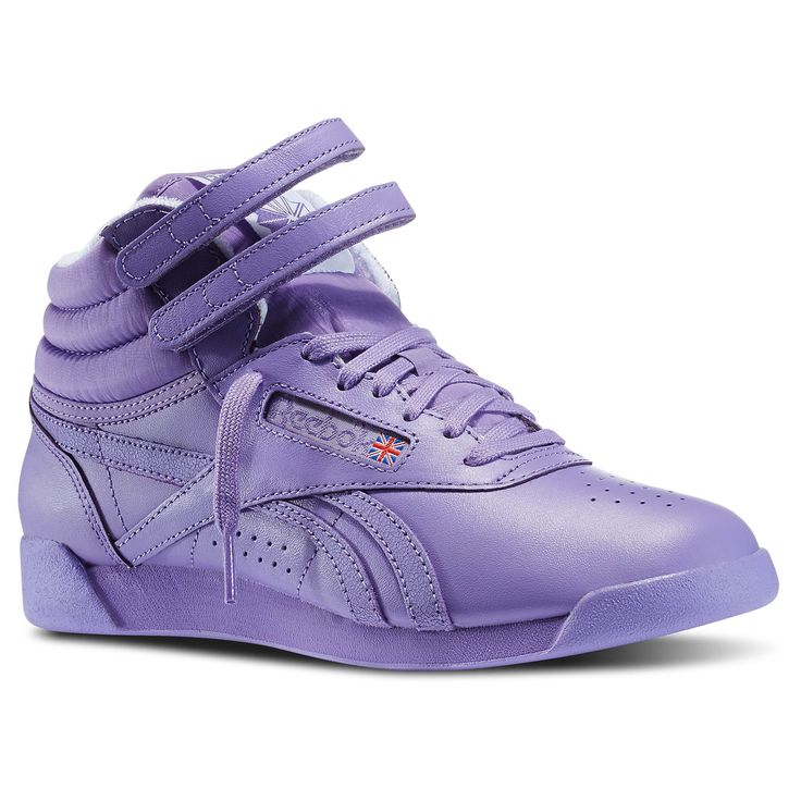 Reebok - Freestyle Hi Spirit - I remember when girls in my class were wearing these.  I was never big into sneakers.  I did have Pony hi-tops for gym in Jr high.  In college, I went through a Keds phase.