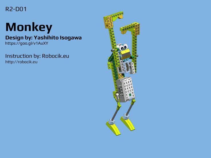 LEGO WeDO 2.0 Monkey by Yoshihito Isogawa - Robocik.eu