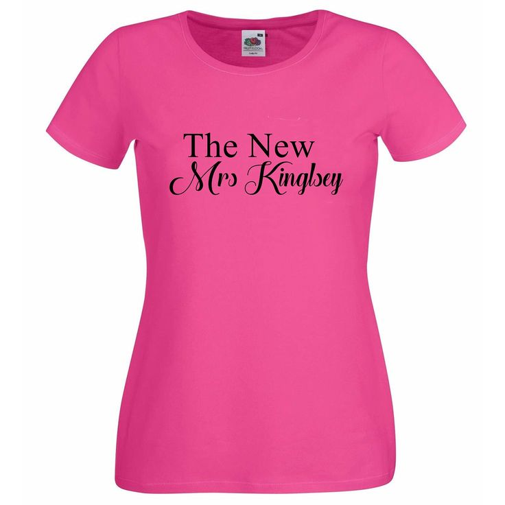 The new Mrs t-shirt,  Personalised T Shirt, Wedding T Shirt, Hen Party T Shirt, Personalized T Shirt, Hen Party T Shirts,Just Married by personaliseddiamante on Etsy https://www.etsy.com/uk/listing/508480110/the-new-mrs-t-shirt-personalised-t-shirt