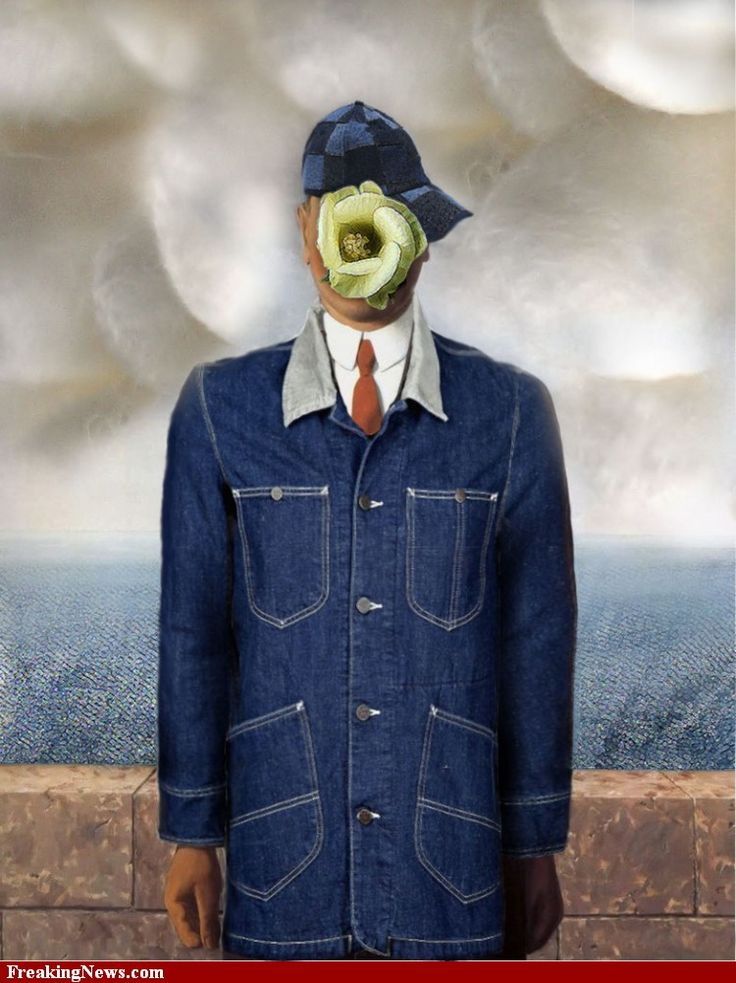 Rene Magritte The Son Of Man 97 best Parody: Son of...