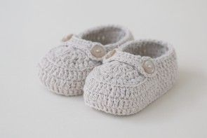 Cotton crochet shoes from Oli Prik