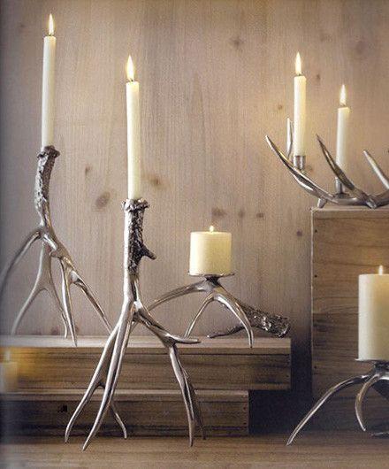 Roost Polished Antler Candlestick Holder - Candlestick Holders - Shop Nectar - 1