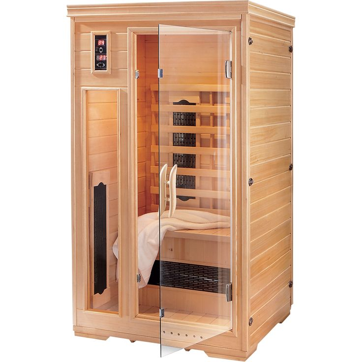 2-Person Sauna — Healthy Heat Without the Health Club Fees