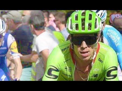 """HOY Rigoberto Urán, 2o en la Etapa - ultimos 5 Km, Etapa 17 Tour de Francia - VER VÍDEO -> http://quehubocolombia.com/hoy-rigoberto-uran-2o-en-la-etapa-ultimos-5-km-etapa-17-tour-de-francia    Rigoberto Urán asciende al segundo lugar del Tour de Francia, se metió segundo en la clasificación general, a 27 segundos del líder, el británico Chris Froome. """"Rigo"""" tiene el mismo tiempo del francés Romain Bardet, 3o en la general Créditos de vídeo a Popular on YouTub"""