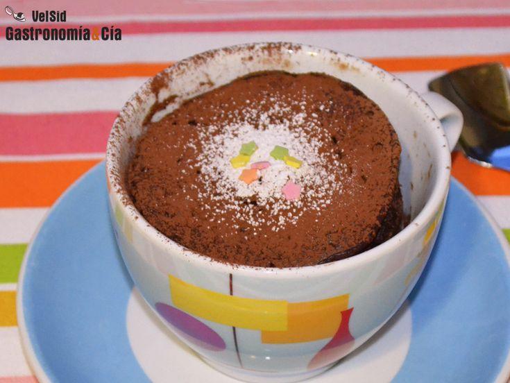 Mug Cake de café y cacao