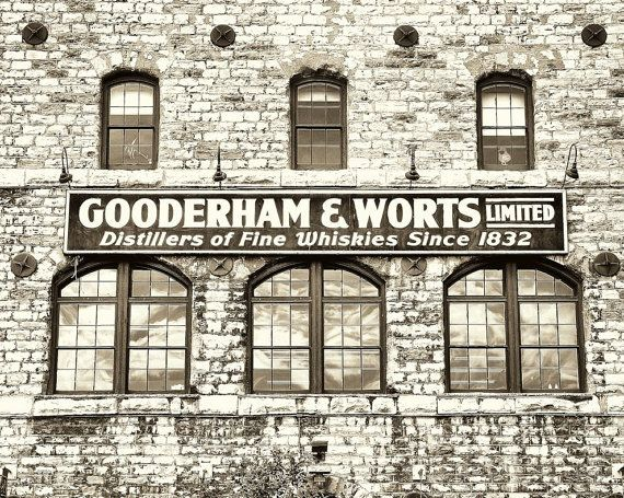 Gooderham & Worts Distillery in Toronto Industrial Photo by gbrosseau of the Canadian Collective