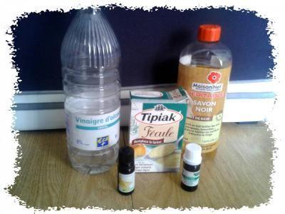 Ingredients gel wc