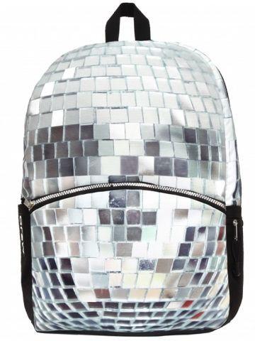 Rucsac Mojo, Disco Rucsac Disco funcțional și spațios cu un design strălucitor și original. Imprimeul simbolic este îndrăgit de orice iubitor de libertate și călătorie. http://www.rechizitelemele.ro/rucsac-disco