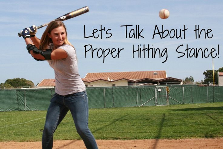 Girls Softball Hitting Mechanics - Getting into the Proper Stance : Softball Spot