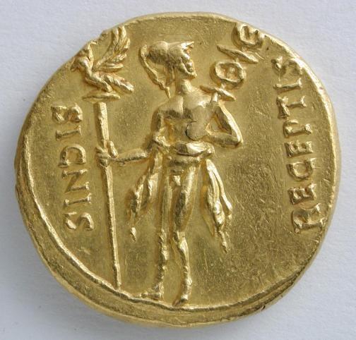 Exposicion Caesar Augusta en 22 monedas romanas en Zaragoza #Arquelogia #Archeology
