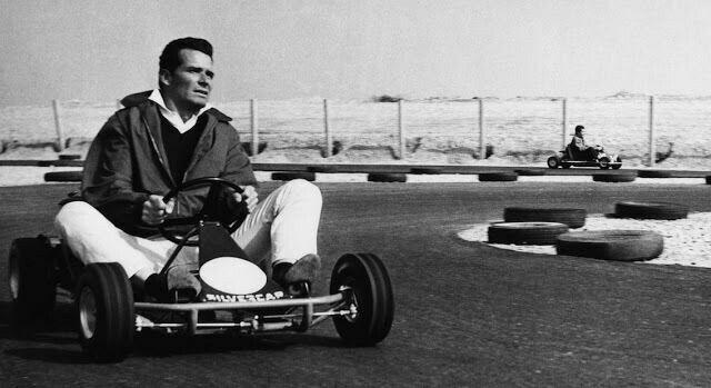 James Garner Karting
