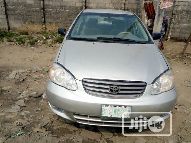 Toyota Corolla Break 2003 Silver Toyota Corolla 2003 Model Car For Sale First Body With Nice Transmission Neat Fabrics U In 2020 Cars For Sale Used Cars Toyota Corolla