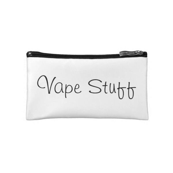 Vape Acessory Bag Makeup Bag (€23) ❤ liked on Polyvore featuring beauty products, beauty accessories, bags & cases, travel kit, cosmetic bag, make up purse, cosmetic purse and makeup bag case