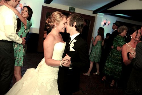 Peter Pan and Wendy. Just...AWWW!!! (That really is them! The ones from Disney that got married!!) Follow the link! Worth it!!!