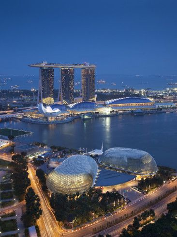 singapore esplanade theatres on the bay