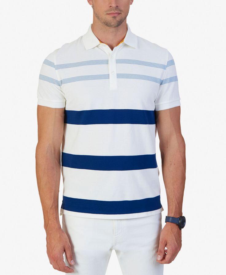 Nautica Men's Classic-Fit Striped Polo