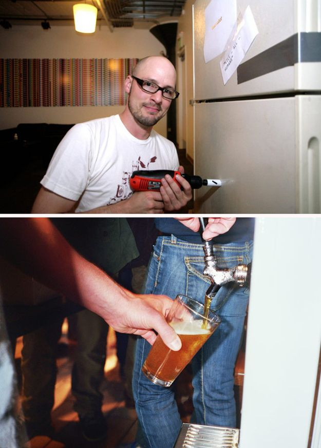 A Kegerator | 32 Things You Need In Your Man Cave