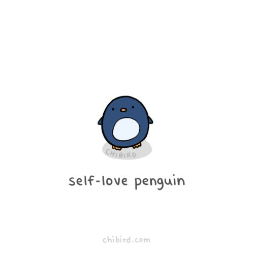 We could all use a little more self love. <3 It's 2015, let's give it a try.     @chibird on tumblr