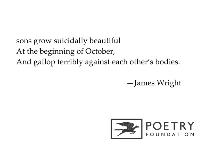 """James Wright's """"Autumn Begins in Martins Ferry, Ohio"""": An Analysis"""