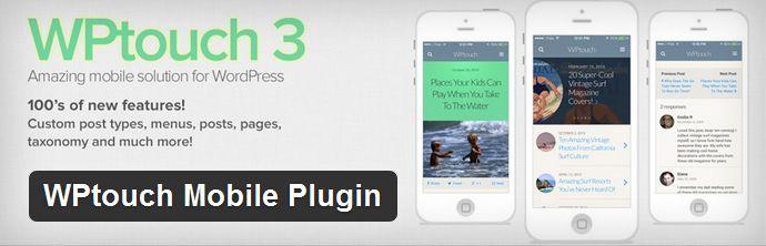 wptouch mobile plugin WPtouch Mobile Plugin