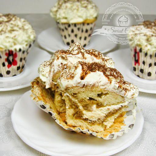 Cupcakes tiramisu   Świat Ciasta