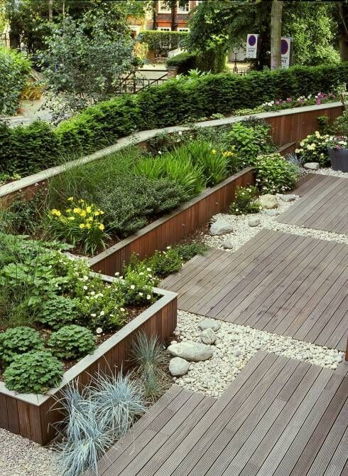 17 best ideas about garden design plans on pinterest for Garden design hacks