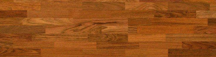 Woodline Parquetry solid wood flooring - Brazilian Cherry (Jatoba) 3 Strip