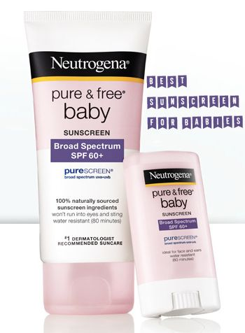 BEST baby sunscreen on the market and affordable. Neutrogena purescreen sunscreen for babies