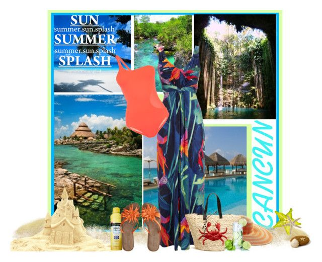 """""""Cancun~Mexico"""" by suzanne228 ❤ liked on Polyvore featuring adidas, Neutrogena, Chocolat Blu, Rachel Zoe and Felix Rey"""