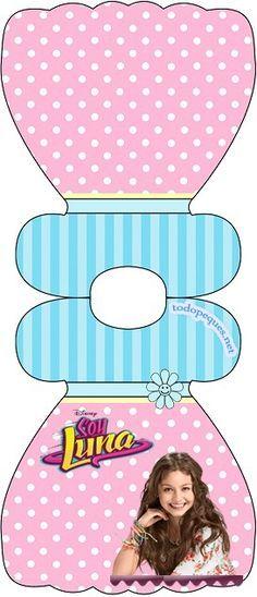 Kits imprimibles de Soy Luna - Invitaciones de cumpleaños de Soy Luna - FIesta…