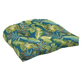 arden outdoor merrill botanical patio chair cushion